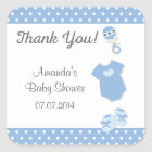 Baby Clothes Baby Shower Thank You Stickers