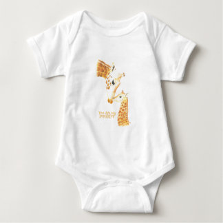 Baby clothes Giraffe and Baby You Are My Sunshine Baby Bodysuit