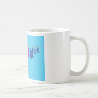 Baby Clothes Line Mugs