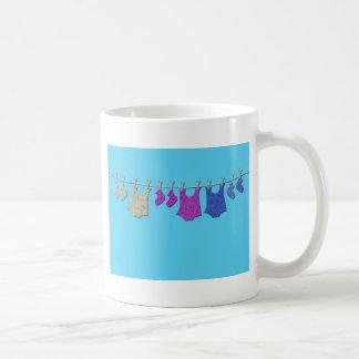 Baby Clothes Line Mug
