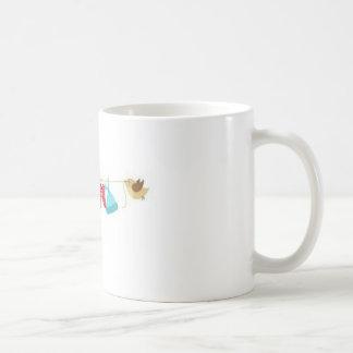 Baby clothes coffee mug