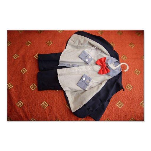 Baby clothes photo art