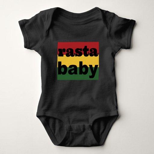 Baby Clothing Rasta Baby One Piece Black Baby Bodysuit