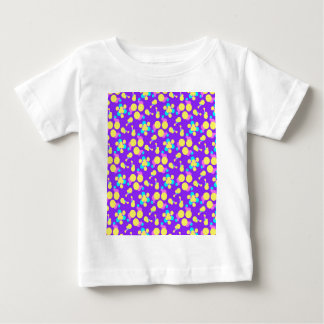 Baby Clothing with Fun Purple and Yellow Design T Shirt