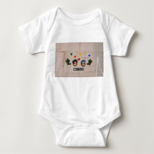 Baby clothing with unique image. baby bodysuit
