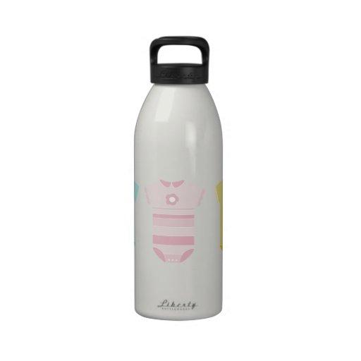 Baby Cloths Reusable Water Bottles