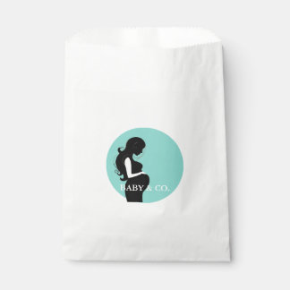 BABY & CO. Blue Tiffany Party Favor Bags Favour Bags