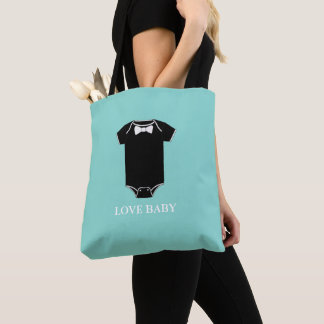 BABY & CO. Boy Little Man Party Tote Bag