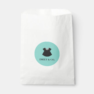 BABY & CO. Tiffany Dress Baby Shower Favor Bags Favour Bags