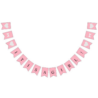 BABY & CO.  Tiffany Girl Party Bunting Banner