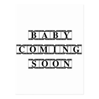 Baby Coming Soon Postcard
