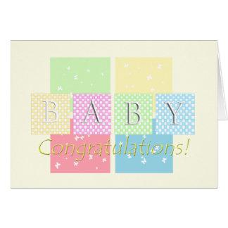 Baby Congratulations! Greeting Card