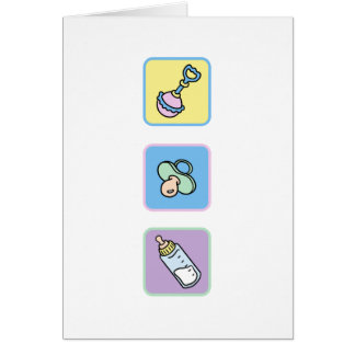 Baby Congratulations for new or expectant parents Card
