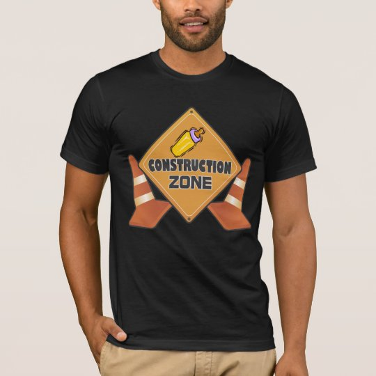 Baby Construction Zone Maternity T-shirt