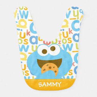 Baby Cookie Monster Eating Baby Bibs
