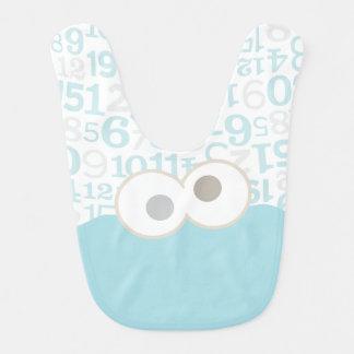 Baby Cookie Monster Face Baby Bibs