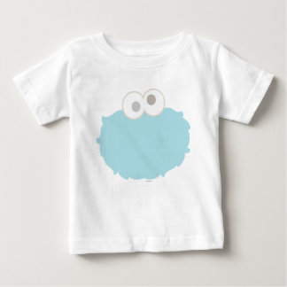 Baby Cookie Monster Face Baby T-Shirt