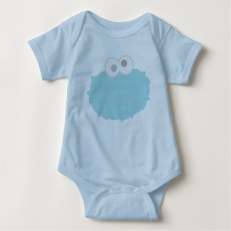 Baby Cookie Monster Face Infant Creeper