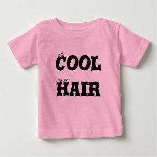 Baby Cool Hair- Pink Baby T-Shirt
