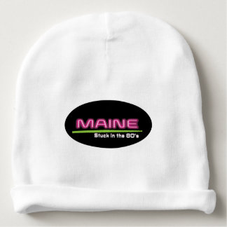 Baby Cotton Beanie MAINE STUCK IN THE 80'S Baby Beanie