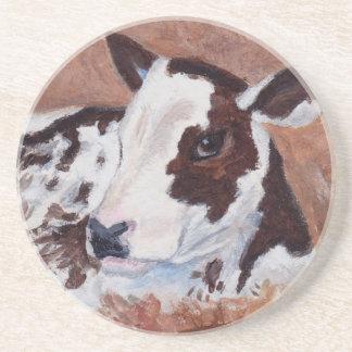 Baby Cow Coaster