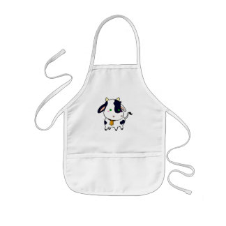 Baby cow kids apron