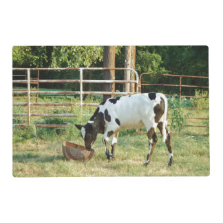 Baby Cow Laminated Placemat