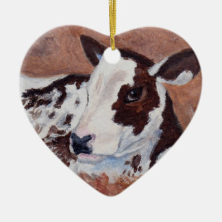 Baby Cow Ornament