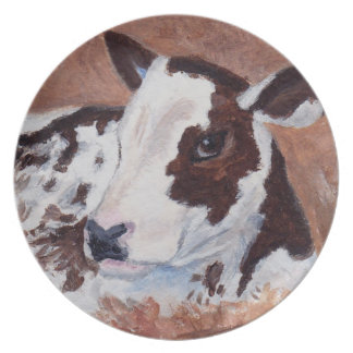 Baby Cow Plate