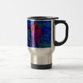 Baby Cow Purple grass Coffee Mug