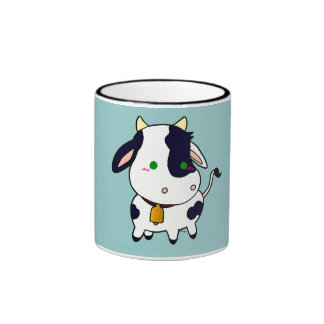 Baby Cow Ringer Mug
