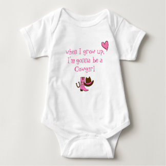 Baby Cowgirl Baby Bodysuit