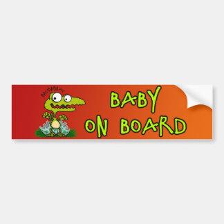 Baby Croc Bumper Sticker