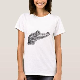 Baby Crocodile Ink Drawing T-Shirt