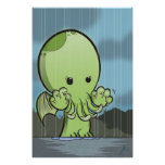 Baby Cthulhu - Poster