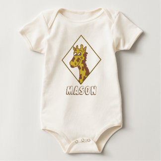 Baby cute giraffe shirt