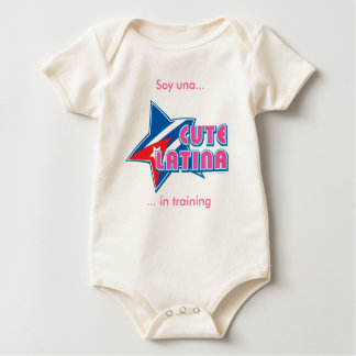 Baby Cute Latina Cuba Edition Baby Bodysuit