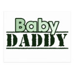 Baby Daddy Postcard