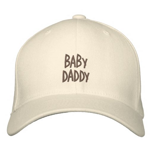 Baby, Daddy-Saying-Embroidered Hat