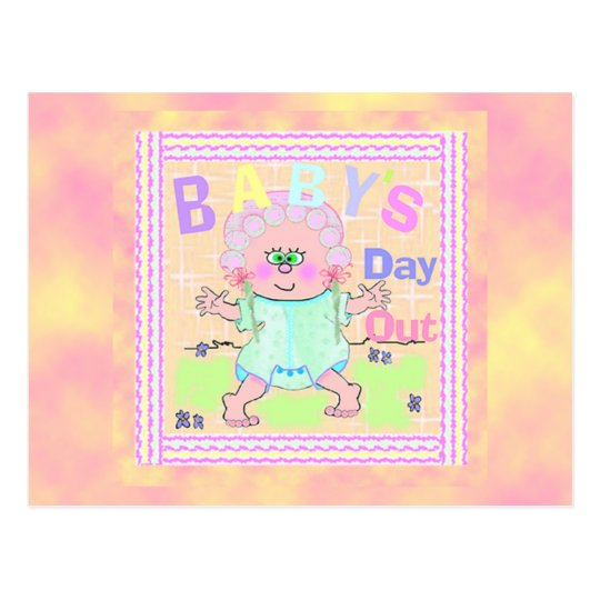 Baby Day Out Postcard