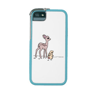 Baby Deer And Rabbit Cover For iPhone 5