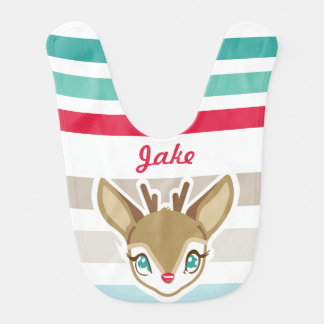 Baby Deer | Christmas Bib