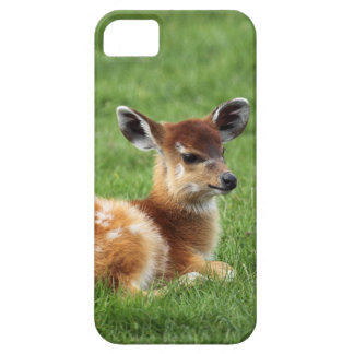 Baby deer fawn woodland nature animal photograph barely there iPhone 5 case