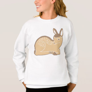 Baby Deer Girls' ComfortBlend® Sweatshirt