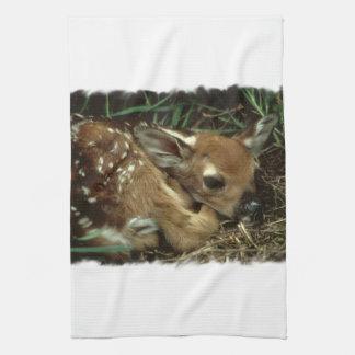 Baby Deer Kitchen Towel