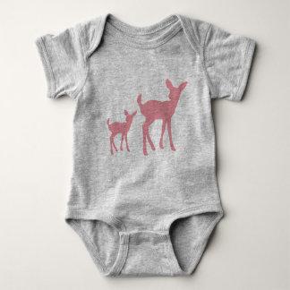 Baby deers vest baby bodysuit