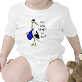 Baby Delivery Stork Baby Suit Bodysuits