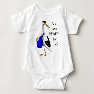 Baby Delivery Stork Baby Suit Shirt