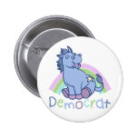 Baby Democrat Donkey Badge