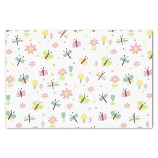 Baby Designer Tissue Paper - Pretty for baby